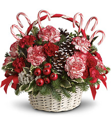 Candy Cane Christmas from McIntire Florist in Fulton, Missouri