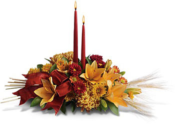 Graceful Glow Centerpiece from McIntire Florist in Fulton, Missouri