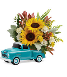 Chevy Pickup Bouquet from McIntire Florist in Fulton, Missouri