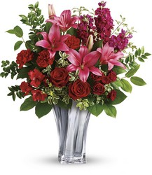 Teleflora's Sterling Love Bouquet from McIntire Florist in Fulton, Missouri