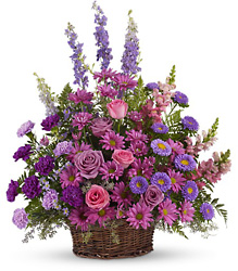 Gracious Lavender Basket from McIntire Florist in Fulton, Missouri