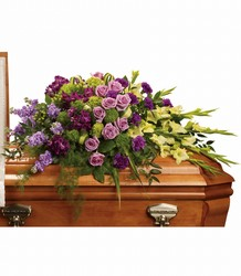 Reflections of Gratitude Casket Spray from McIntire Florist in Fulton, Missouri