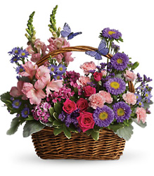 Country Basket Blooms from McIntire Florist in Fulton, Missouri
