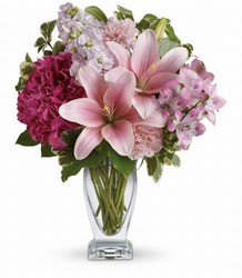 Teleflora's Blush Of Love Bouquet from McIntire Florist in Fulton, Missouri