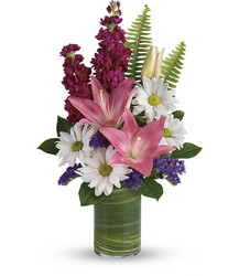 Teleflora's Playful Daisy Bouquet from McIntire Florist in Fulton, Missouri