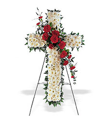 Hope and Honor Cross from McIntire Florist in Fulton, Missouri