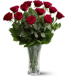 A Dozen Red Roses from McIntire Florist in Fulton, Missouri